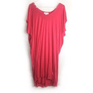 Velvet by Graham & Spencer Viscose High Low Dress.
